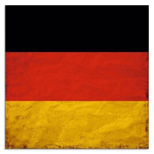 Artland print op glas Duitsland Duitse Vlag (1 stuk)  - 56.99 - rood