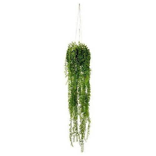 I.GE.A. kunstplant Senecio-plantenhanger Met plantenhanger (1 stuk)  - 23.99 - groen