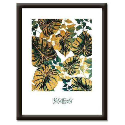 Artland artprint Bladgoud (1 stuk)  - 59.99 - groen