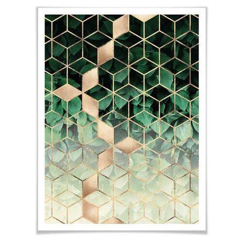 ART Wall-Art poster Natuur Geometrie (1 stuk)  - 23.99 - multicolor