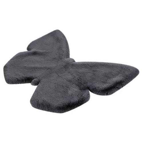 Lüttenhütt vloerkleed voor de kinderkamer Vlinder heerlijk zacht, kinderkamer  - 44.99 - grijs