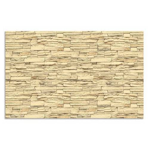 Artland keukenwand Bakstenen muur (1-delig)  - 84.99 - bruin