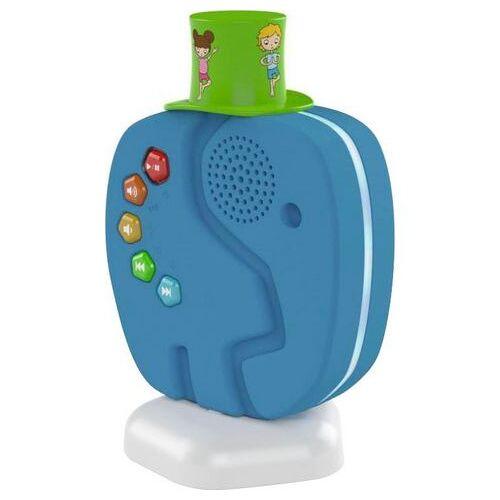 TechniSat luidspreker Technifant audiospeler voor kinderen, met nachtlicht  - 102.96 - blauw