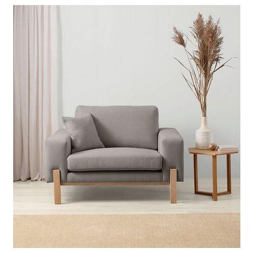 OTTO products loveseat Hanne Bekleding van natuurlijke materialen: katoen en linnen  - 419.99 - grijs
