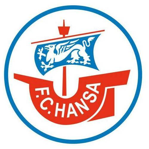 ART Wall-Art wandfolie Voetbal Hansa Rostock logo (1 stuk)  - 12.99 - multicolor