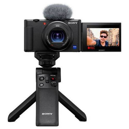 Sony compact-camera Vlogcamera ZV-1 Selfie stick GPVPT2BT.SYU  - 998.00 - zwart
