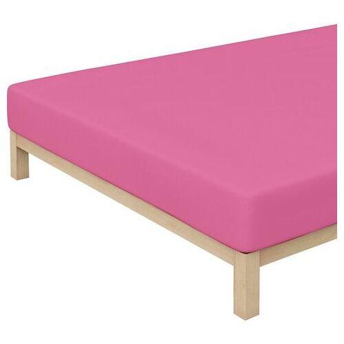 Schlafgut hoeslaken Kinderen mako-jersey gemaakt van 100% biologisch katoen (1 stuk)  - 14.95 - roze