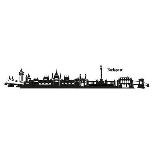 ART Wall-Art wandfolie Stad skyline Boedapest 120 cm (1 stuk)  - 28.99 - zwart