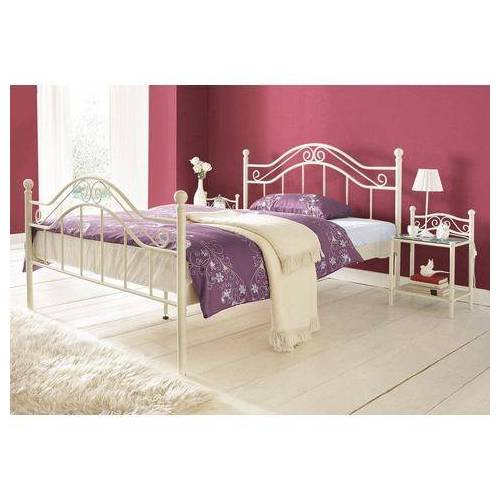 Home affaire Metalen Bed  - 249.99 - wit
