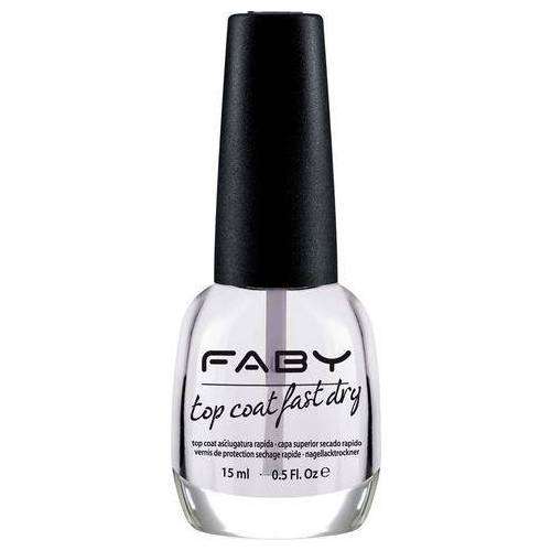 FABY top coat-nagellak  - 18.99 - wit