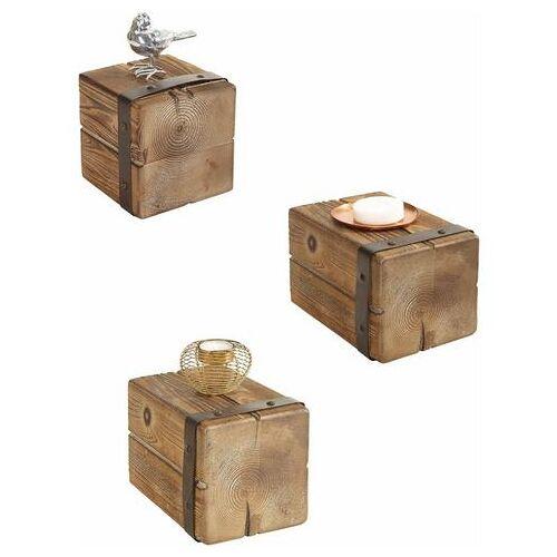 Home affaire wandrek Houten pijlen (3 stuks)  - 83.99 - bruin - Size: 14x20x14 cm