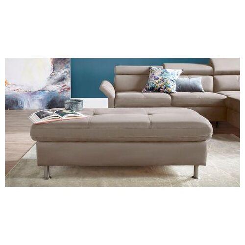 exxpo - sofa fashion hocker  - 349.99 - zilver - Size: leerkunstvezel