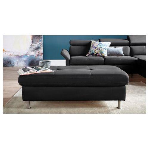 exxpo - sofa fashion hocker  - 349.99 - zwart - Size: leerkunstvezel