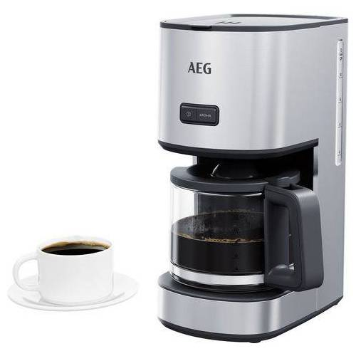 AEG »CM4-1-4ST Deli 4« filterkoffieapparaat  - 67.24 - zilver