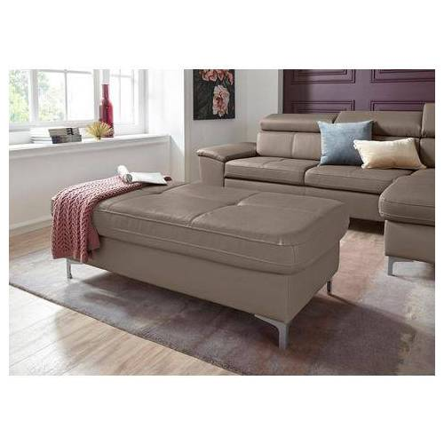 exxpo - sofa fashion hocker  - 399.99 - bruin - Size: leerkunstvezel