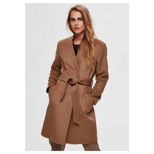 Selected Femme korte jas »SLFMELLA«  - 127.50 - bruin - Size: 38;40;42