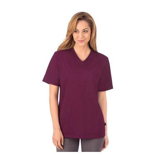 Trigema T-shirt »stevige en gemakkelijk te onderhouden katoen«  - 27.00 - rood - Size: Small