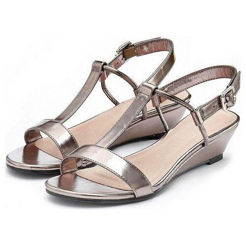 LASCANA sandaaltjes  - 34.99 - grijs - Size: 37;38;39;41;42