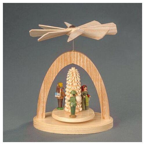 Albin Preissler kerstpiramide  - 79.99 - beige - Size: 13 cm