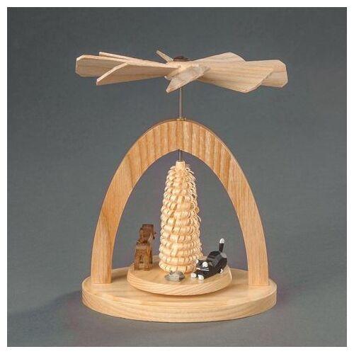 Albin Preissler kerstpiramide  - 49.99 - beige - Size: 13 cm