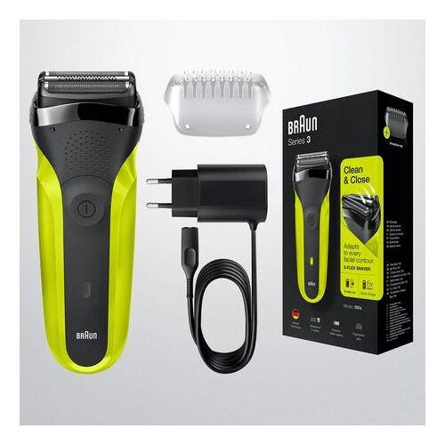 Braun »Series 3 300« elektrisch scheerapparaat  - 69.99 - zwart
