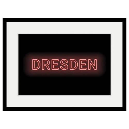 queence wanddecoratie »DRESDEN LIGHTS«  - 92.99 - rood