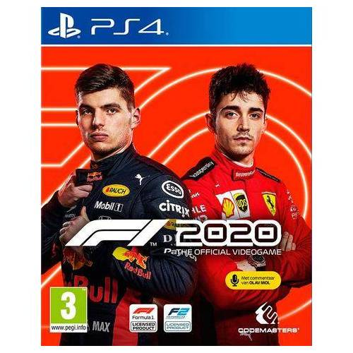 PlayStation Game PS4 F1 2020: Standard Edition  - 69.99