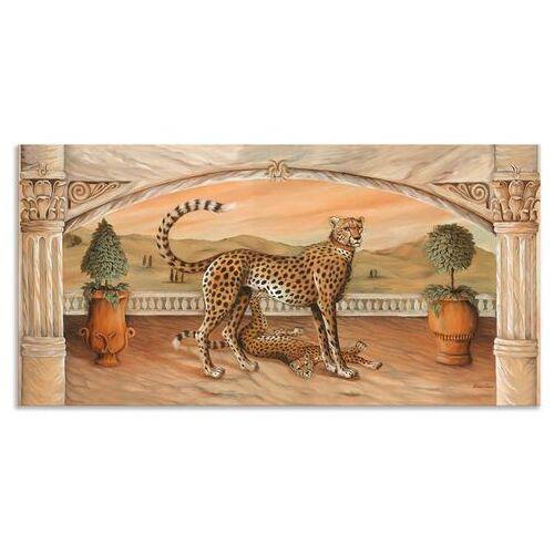 Artland artprint »Geparden unterm Bogen«  - 134.99 - beige