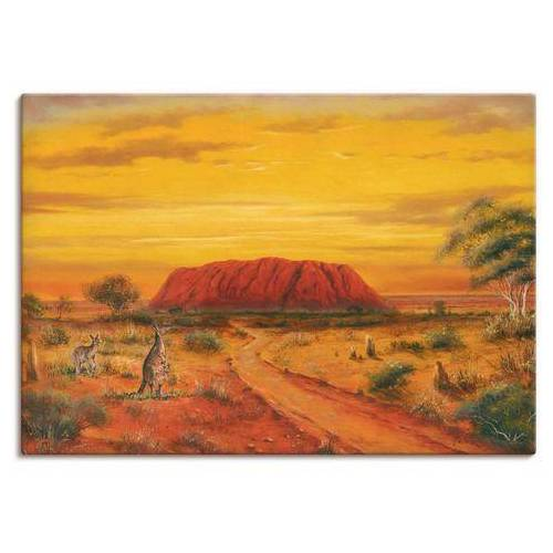 Artland artprint »Australisches Tal«  - 59.99 - bruin
