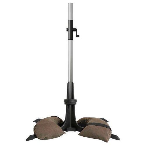 Baser Aps Kunststof paraplubak incl. twee zandzakken  - 89.99 - bruin