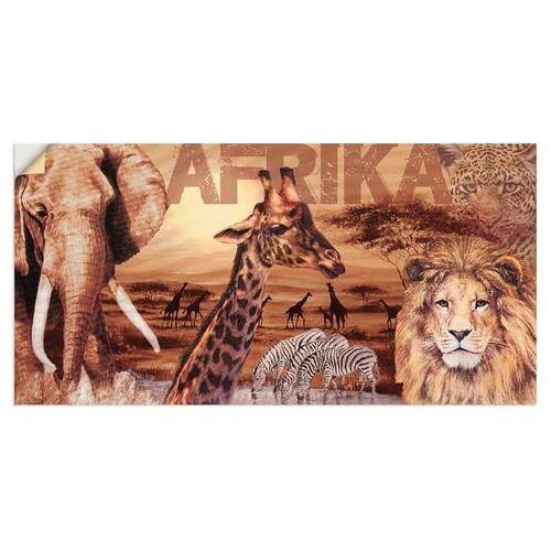 Artland artprint »Afrika«  - 33.99 - bruin