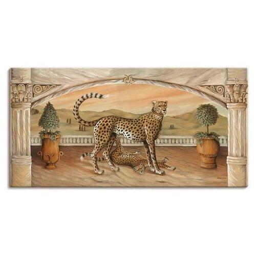 Artland artprint »Geparden unterm Bogen«  - 73.99 - beige