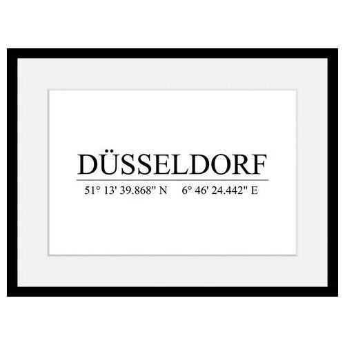 queence wanddecoratie »DÜSSELDORF«  - 63.99 - wit