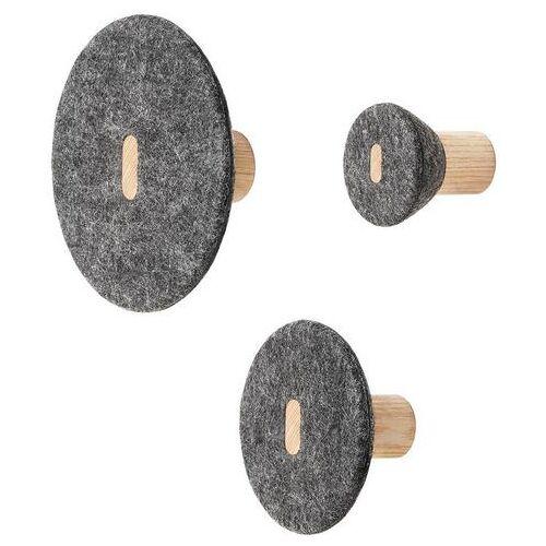 BLOMUS wandhaak Set van 3 wandhaken -PELA-  - 79.95 - Size: Ø 5,5 cm