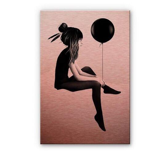 ART Wall-Art metalen artprint Metalen artprint luchtballon Aluplatte (1 stuk)  - 151.99 - rood