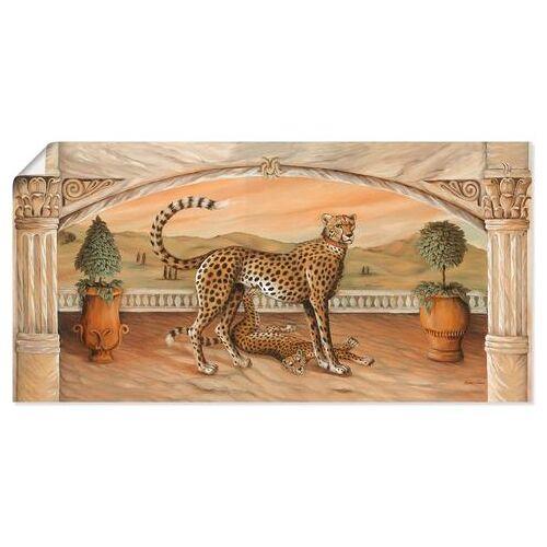 Artland artprint »Geparden unterm Bogen«  - 30.99 - beige