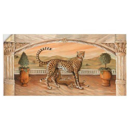 Artland artprint »Geparden unterm Bogen«  - 33.99 - beige