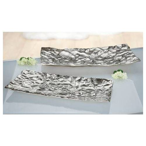 GILDE decoratieve schaal »GILDE Schale Arrugada«  - 127.82 - zilver