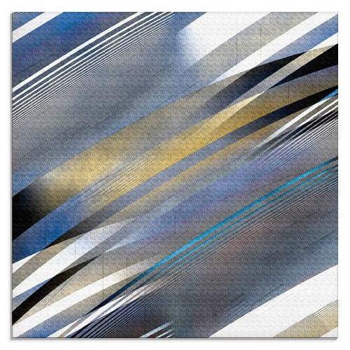 Artland print op glas Geometrie abstract Nr. 2016 003 (1 stuk)  - 42.99 - blauw
