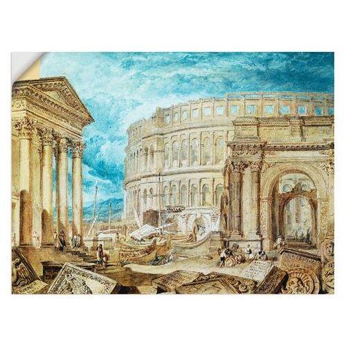 Artland artprint Antiquiteiten van Pola in vele afmetingen & productsoorten -artprint op linnen, poster, muursticker / wandfolie ook geschikt voor de badkamer (1 stuk)  - 28.99 - blauw