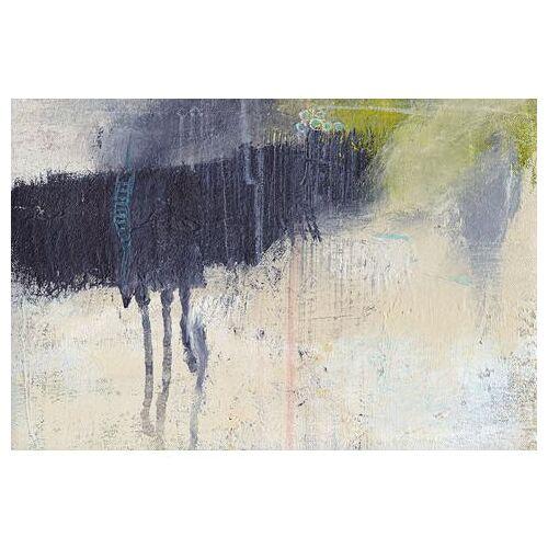 queence artprint op linnen Kunstwerk  - 129.99 - blauw