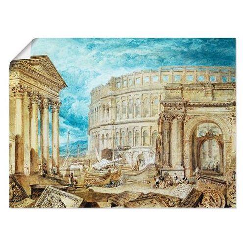 Artland artprint Antiquiteiten van Pola in vele afmetingen & productsoorten -artprint op linnen, poster, muursticker / wandfolie ook geschikt voor de badkamer (1 stuk)  - 20.99 - blauw