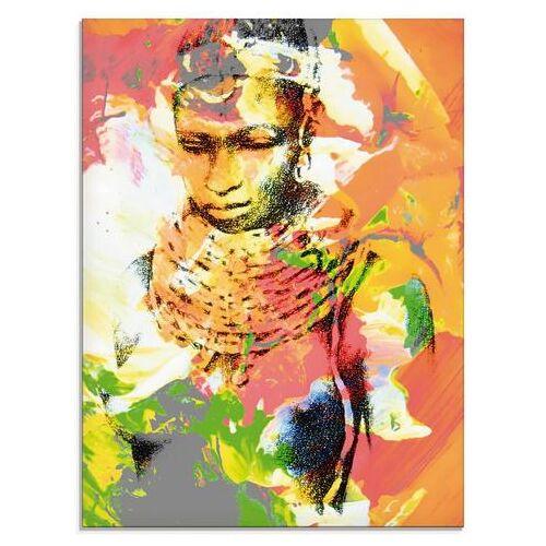 Artland print op glas Afrikaanse (1 stuk)  - 77.99 - multicolor