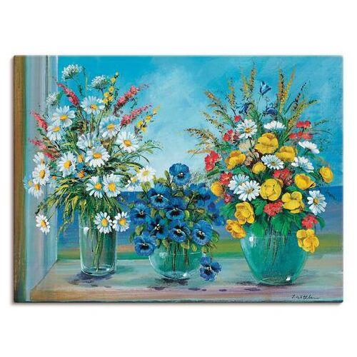Artland artprint Meerdere boeketten in vele afmetingen & productsoorten -artprint op linnen, poster, muursticker / wandfolie ook geschikt voor de badkamer (1 stuk)  - 62.99 - multicolor