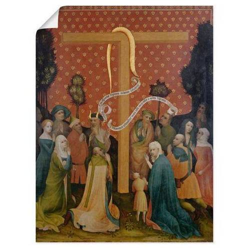 Artland artprint Religieus in vele afmetingen & productsoorten -artprint op linnen, poster, muursticker / wandfolie ook geschikt voor de badkamer (1 stuk)  - 26.99 - multicolor