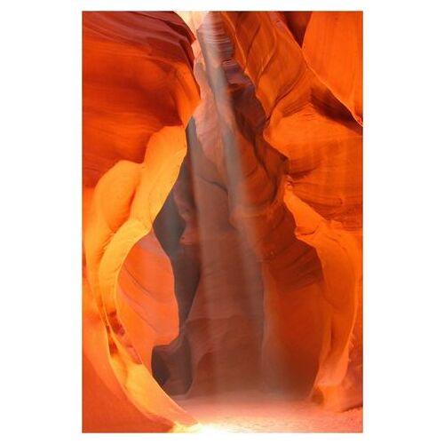 ART & Pleasure artprint op hout Speleologie  - 159.99 - oranje