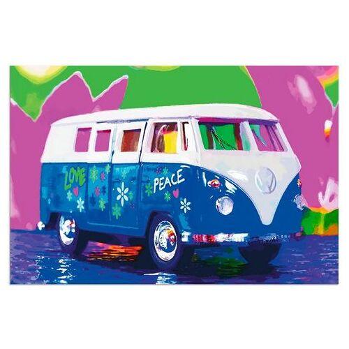Artland artprint »VW Bully«  - 53.99 - blauw