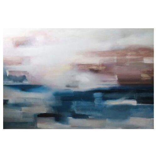 queence artprint op acrylglas »Kunstwerk«  - 168.99 - blauw