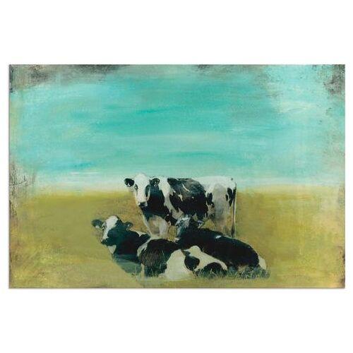 Artland artprint »Kühe auf der Weide III«  - 102.99 - groen