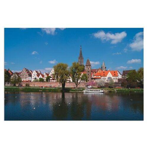 Artland artprint »Ulm an der schönen blauen Donau«  - 22.99 - beige